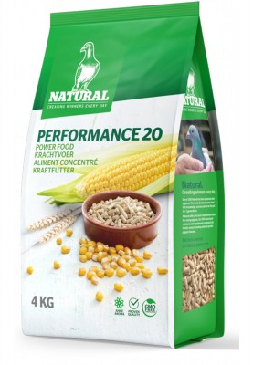 NATURAL Performance 20 Kraftfutter 4kg NEU