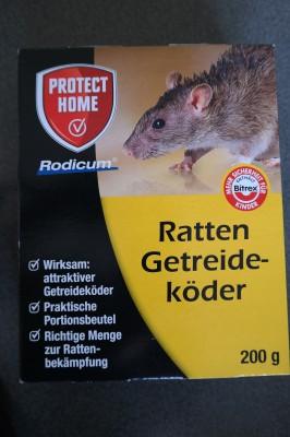 Rodicum Ratten Getreideköder 200g