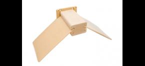 Sitzbrettchen Holz mit Kunststoff-Flügel Neu!