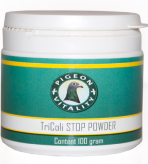 Pigeon Vitality Tricoli Stop Pulver 100g