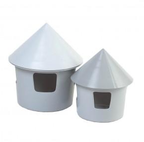 Tränke aus Kunststoff grau ca. 2 Liter belgisch
